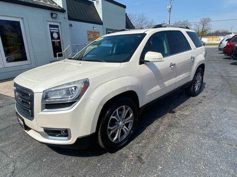2013 GMC Acadia for sale at Huggins Auto Sales in Ottawa OH