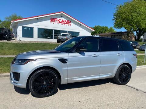 2019 Land Rover Range Rover Sport for sale at Efkamp Auto Sales LLC in Des Moines IA