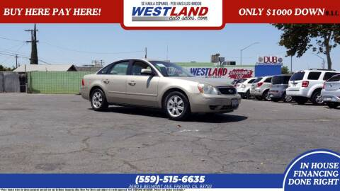 2005 Ford Five Hundred for sale at Westland Auto Sales on 7th in Fresno CA