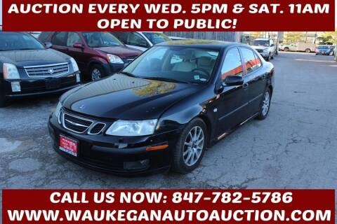 2004 Saab 9-3 for sale at Waukegan Auto Auction in Waukegan IL