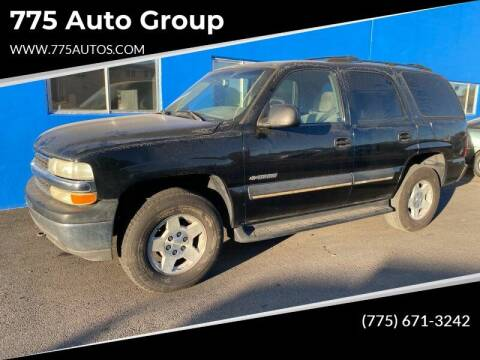 2002 Chevrolet Tahoe for sale at City Auto Sales in Sparks NV