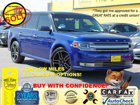 2013 Ford Flex for sale at The Car Company in Las Vegas NV