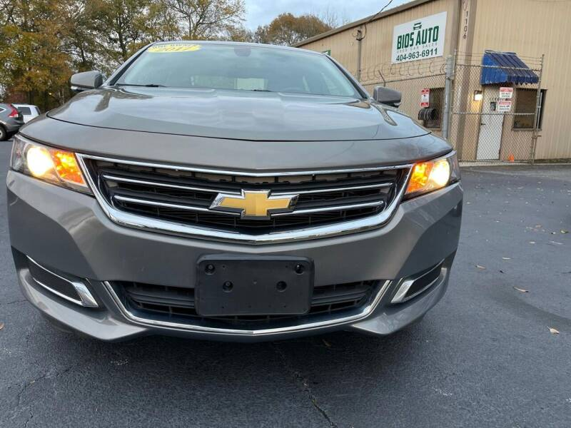 2017 Chevrolet Impala for sale at BIOS AUTO Used Car Sales in Atlanta GA
