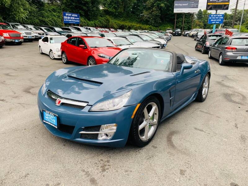 2007 Saturn SKY for sale at Sport Motive Auto Sales in Seattle WA