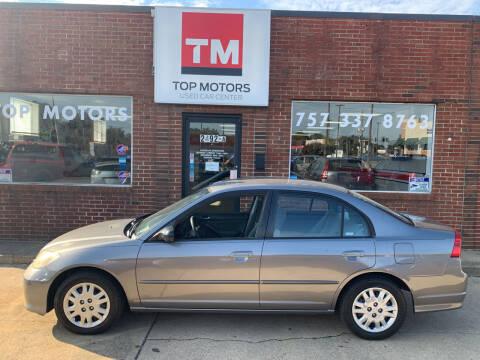 2004 Honda Civic for sale at Top Motors LLC in Portsmouth VA