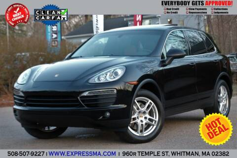 2014 Porsche Cayenne for sale at Auto Sales Express in Whitman MA