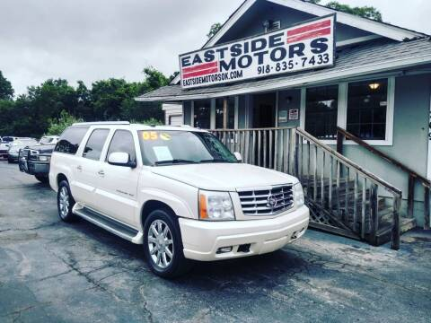 2005 Cadillac Escalade ESV for sale at EASTSIDE MOTORS in Tulsa OK