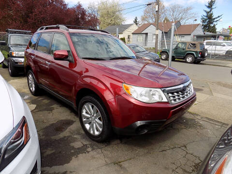 2012 Subaru Forester for sale at A1 Group Inc in Portland OR
