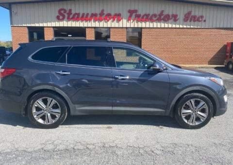2013 Hyundai Santa Fe for sale at STAUNTON TRACTOR INC in Staunton VA