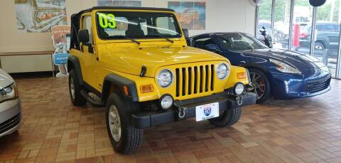 2003 Jeep Wrangler for sale at I-80 Auto Sales in Hazel Crest IL