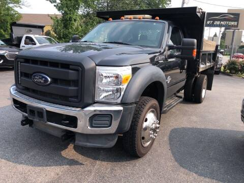2012 Ford F-550 Super Duty for sale at RT28 Motors in North Reading MA
