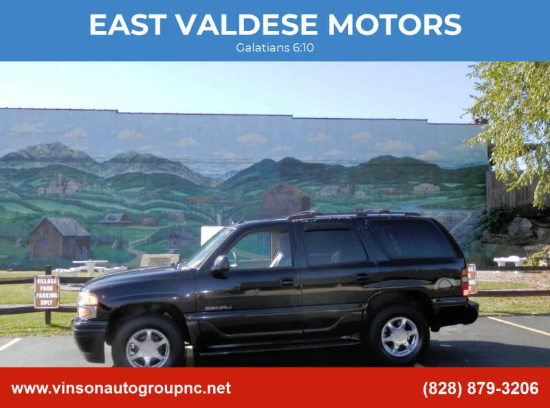 2005 GMC Yukon for sale at EAST VALDESE MOTORS in Valdese NC