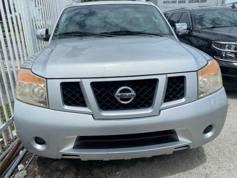2009 Nissan Armada for sale at America Auto Wholesale Inc in Miami FL