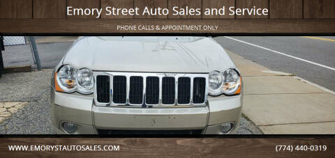 2010 Jeep Grand Cherokee for sale at Emory Street Auto Sales and Service in Attleboro MA
