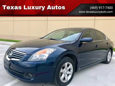 2008 Nissan Altima for sale at Texas Luxury Auto in Cedar Hill TX