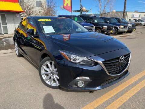 2014 Mazda MAZDA3 for sale at New Wave Auto Brokers & Sales in Denver CO