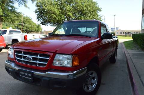 2001 Ford Ranger for sale at E-Auto Groups in Dallas TX