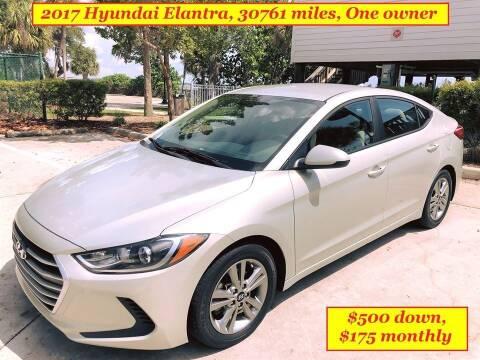 2017 Hyundai Elantra for sale at SIMON & DAVID AUTO SALE in Port Charlotte FL