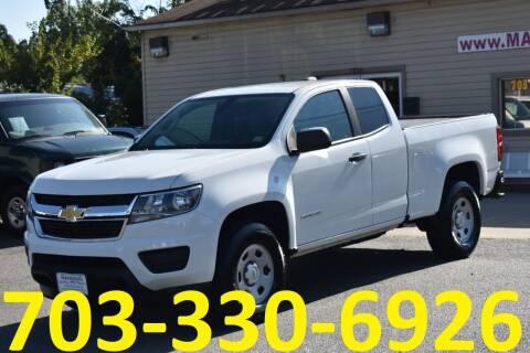 2017 Chevrolet Colorado for sale at MANASSAS AUTO TRUCK in Manassas VA