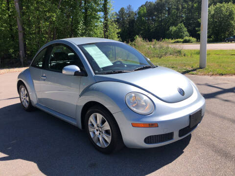 2009 Volkswagen New Beetle for sale at Galaxy Auto Sale in Fuquay Varina NC