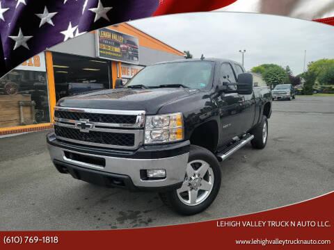 2013 Chevrolet Silverado 2500HD for sale at Lehigh Valley Truck n Auto LLC. in Schnecksville PA