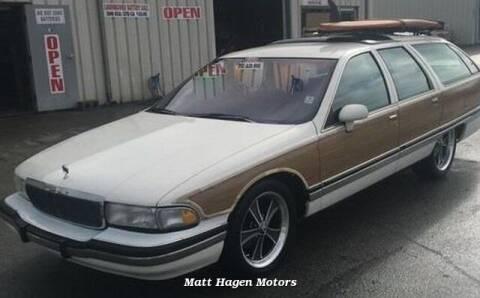 1992 Buick Roadmaster for sale at Matt Hagen Motors in Newport NC