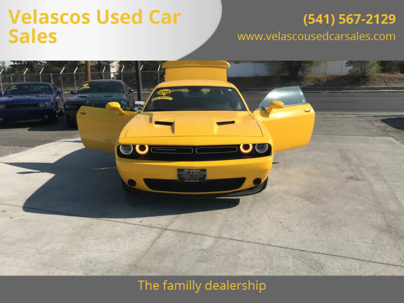 2018 Dodge Challenger for sale at Velascos Used Car Sales in Hermiston OR