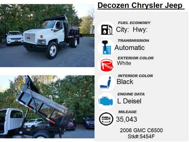 2006 GMC C6500 4X2 2dr Regular Cab 128-224 in. WB - Montclair NJ