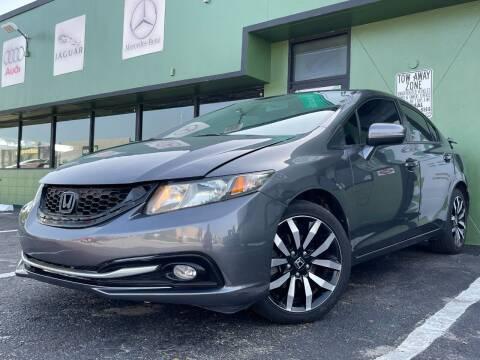 2014 Honda Civic for sale at KARZILLA MOTORS in Oakland Park FL