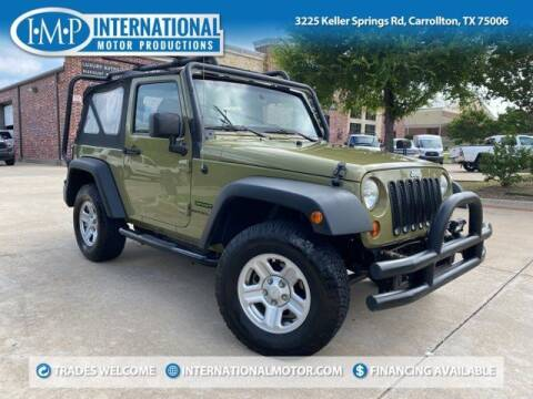 2013 Jeep Wrangler for sale at International Motor Productions in Carrollton TX