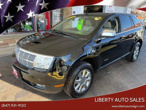 2007 Lincoln MKX for sale at Liberty Auto Sales in Elgin IL