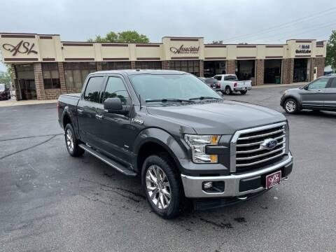 2017 Ford F-150 for sale at ASSOCIATED SALES & LEASING in Marshfield WI