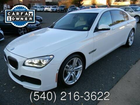 2015 BMW 7 Series for sale at Platinum Motorcars in Warrenton VA