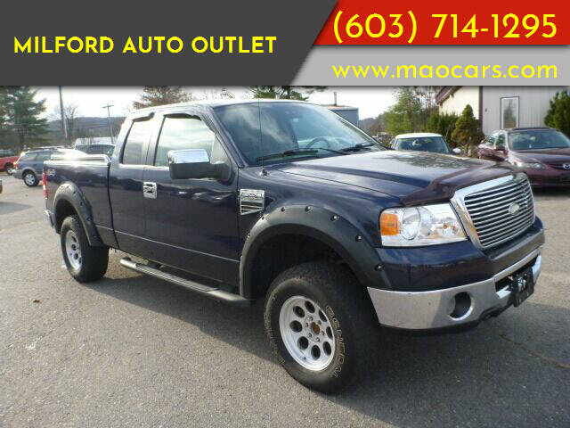 2006 Ford F-150 for sale at Milford Auto Outlet in Milford NH