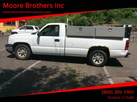 2006 Chevrolet Silverado 1500 for sale at Moore Brothers Inc in Portland CT