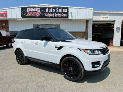 2016 Land Rover Range Rover Sport for sale at One Stop Auto Sales, Collision & Service Center in Somerset PA