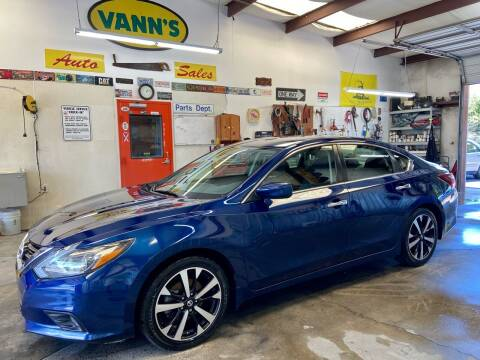 2018 Nissan Altima for sale at Vanns Auto Sales in Goldsboro NC