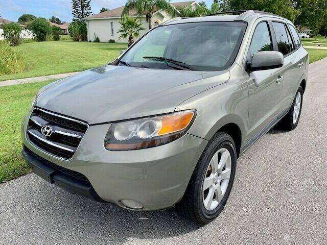 2007 Hyundai Santa Fe for sale at CLEAR SKY AUTO GROUP LLC in Land O Lakes FL