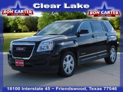 2017 GMC Terrain for sale at Ron Carter  Clear Lake Used Cars in Houston TX