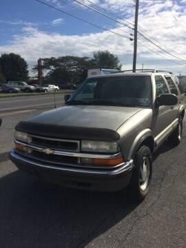 2000 Chevrolet Blazer for sale at Village Auto Center INC in Harrisonburg VA