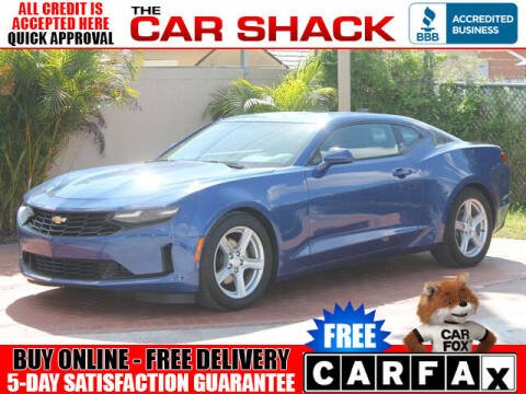 2019 Chevrolet Camaro for sale at The Car Shack in Hialeah FL
