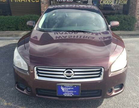 2014 Nissan Maxima for sale at East Carolina Auto Exchange in Greenville NC