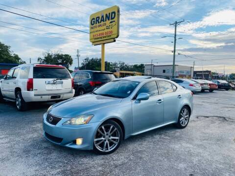 2007 Lexus IS 250 for sale at Grand Auto Sales in Tampa FL