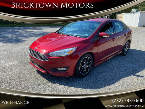 2015 Ford Focus for sale at Bricktown Motors in Brick NJ