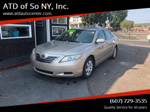 2009 Toyota Camry Hybrid for sale at ATD of So NY, Inc. in Johnson City NY