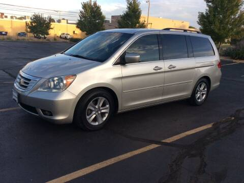 2008 Honda Odyssey for sale at AROUND THE WORLD AUTO SALES in Denver CO