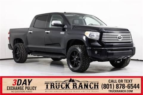 2015 Toyota Tundra for sale at Truck Ranch in American Fork UT
