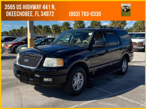 2005 Ford Expedition for sale at M & M AUTO BROKERS INC in Okeechobee FL
