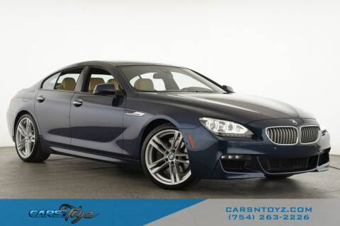 2015 BMW 6 Series for sale at JumboAutoGroup.com - Carsntoyz.com in Hollywood FL