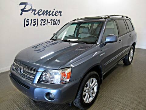 2007 Toyota Highlander Hybrid for sale at Premier Automotive Group in Milford OH